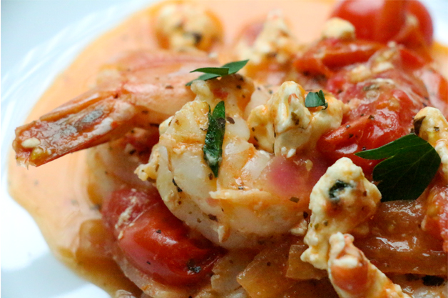 Greek-style-shrimp-with-feta